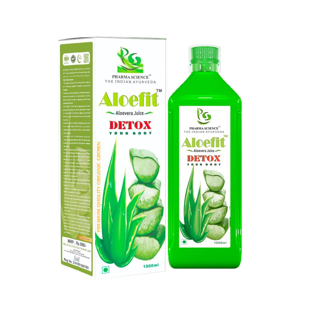 Pharma Science Aloefit AloeVera Juice