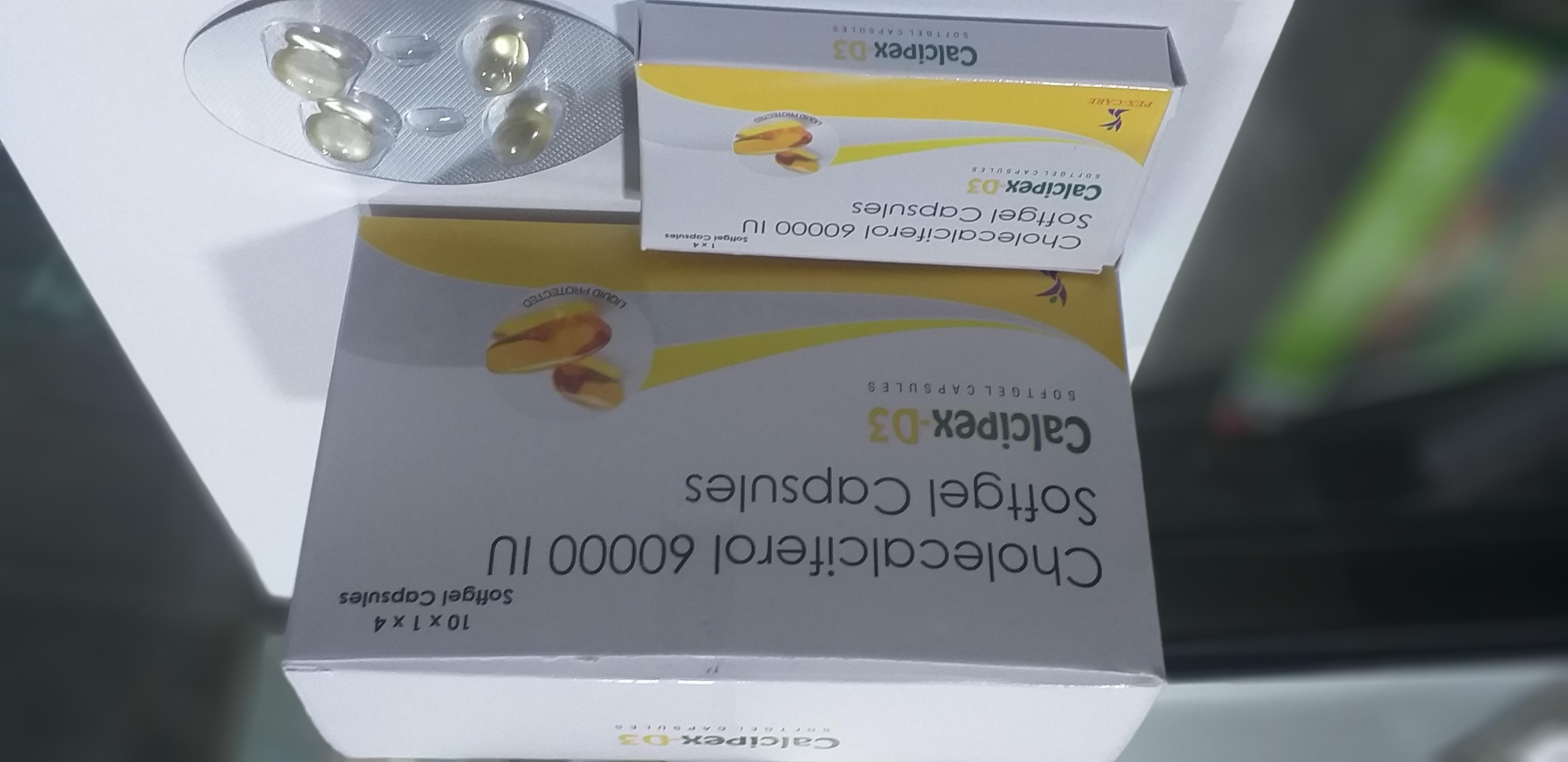 CALCIPEX-D3 soft gel