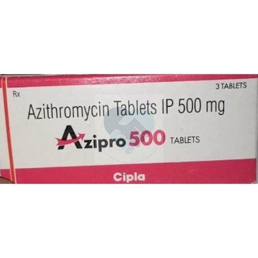 AZIPRO 500 TABS