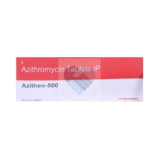 AZITHEO 500 TAB