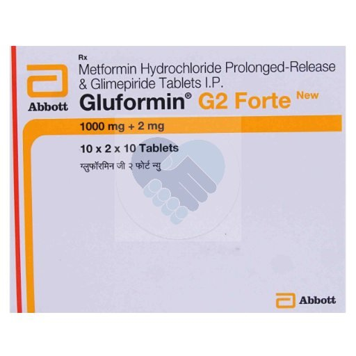 GLUFORMIN G2 FORTE