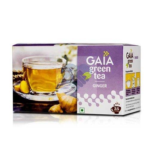 GREEN TEA GINGER 25 TEA BAG