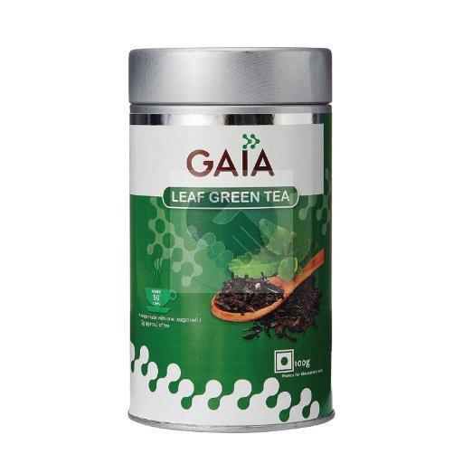 GREEN TEA LEAF CADDY 100 GM