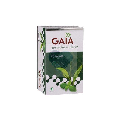 GREEN TEA LEAF CADDY TULSI