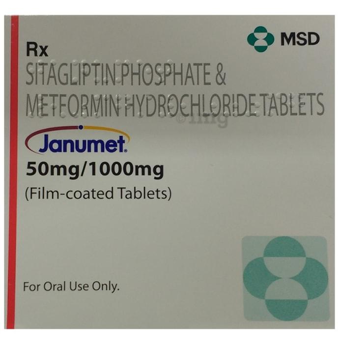 JANUMET 50/1000 TAB