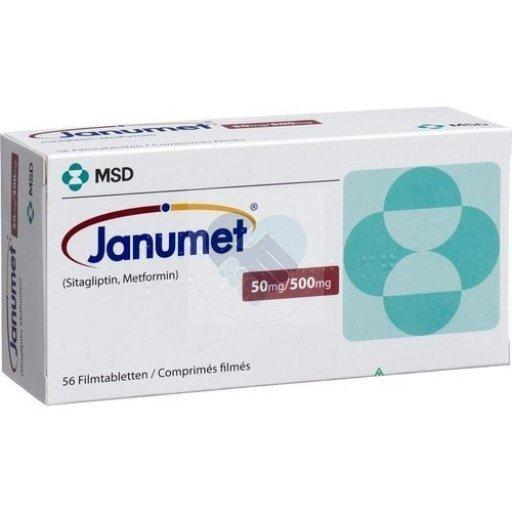 JANUMET 50/500 TAB
