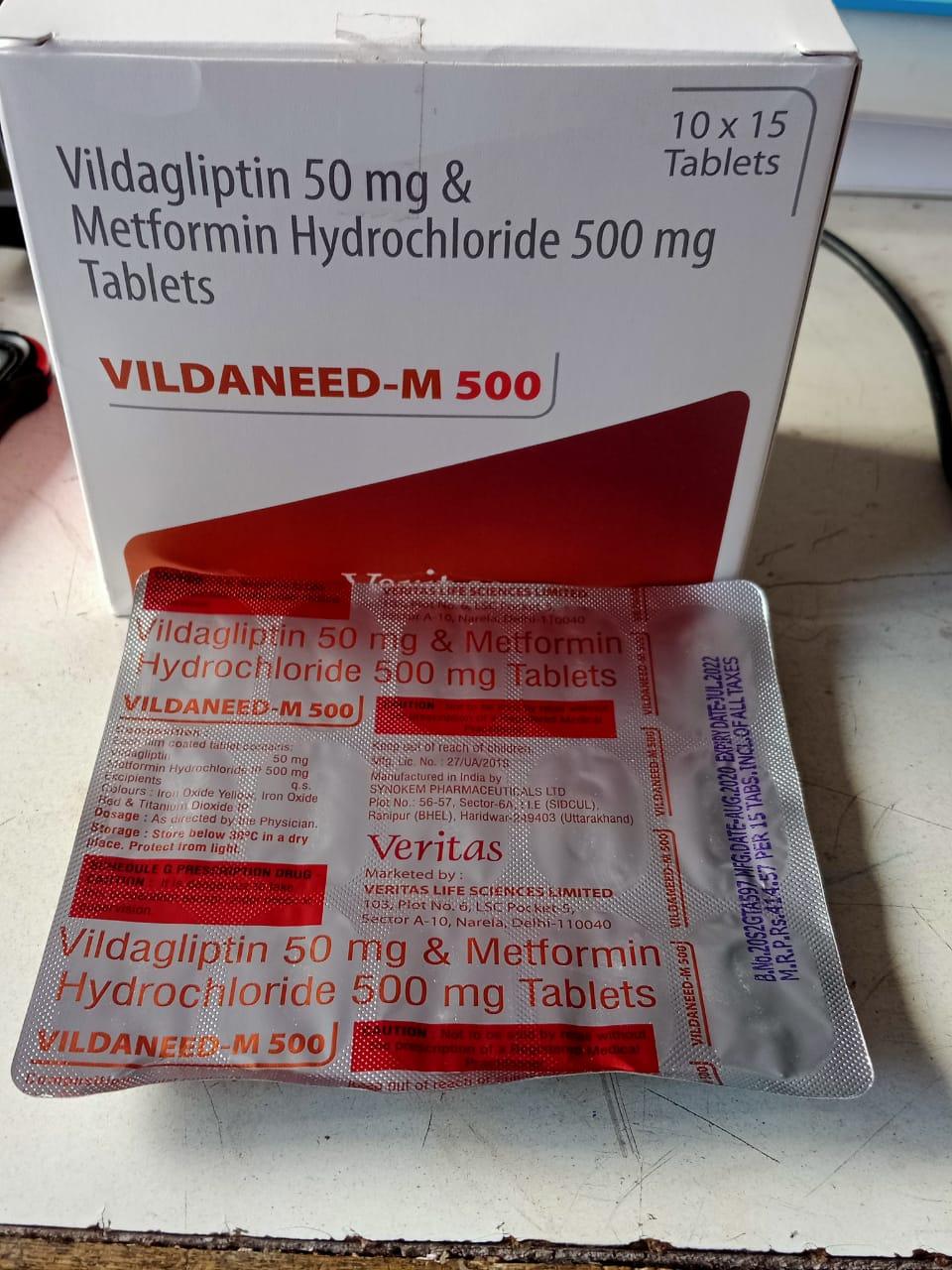 VILDANEED M 500 07/22