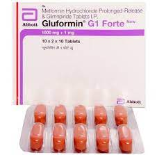 GLUFORMIN G1 FORTE