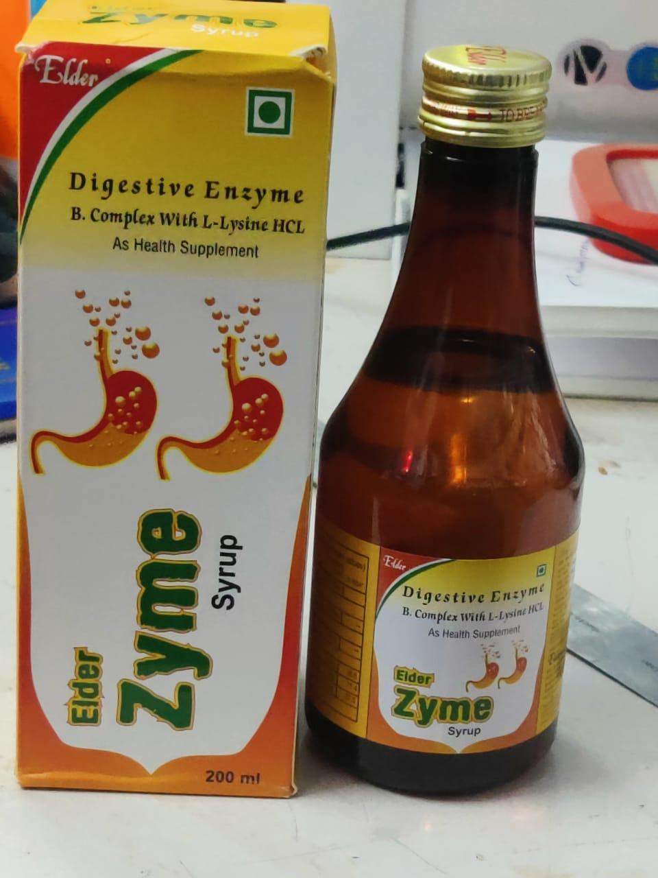 ELDER ZYME SYP 200 ML