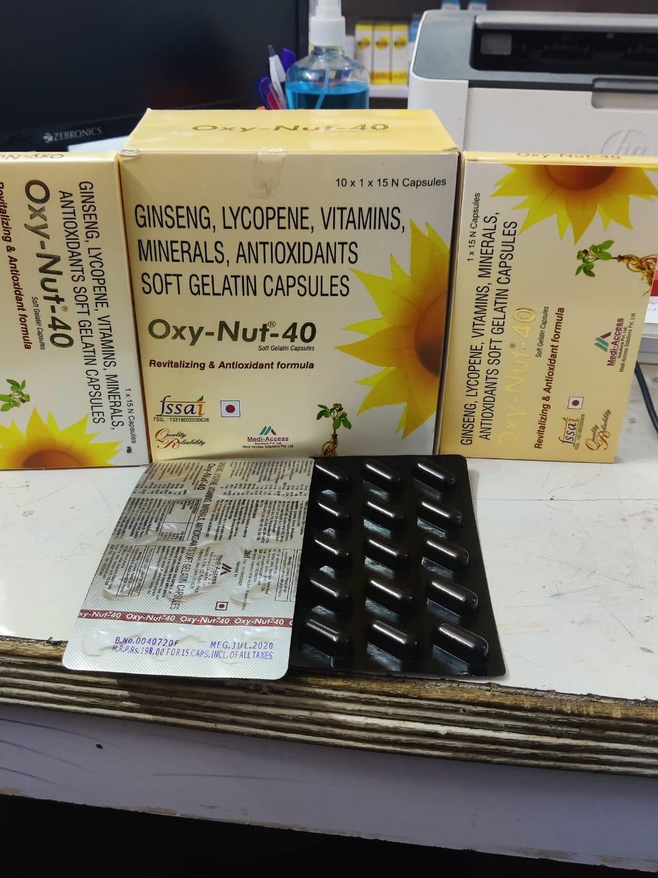 OXY NUT 40 CAP 07/22