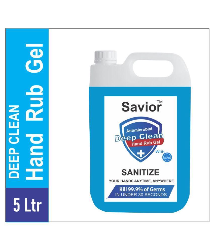 Savior Hand Sanitizer 5 L