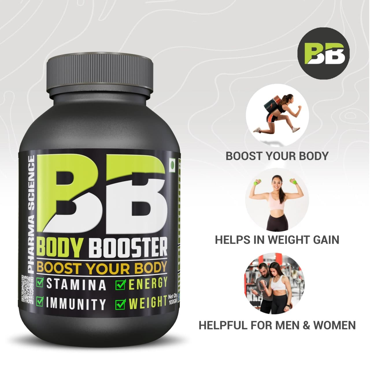 Pharma Science Body Booster For Weight Gain